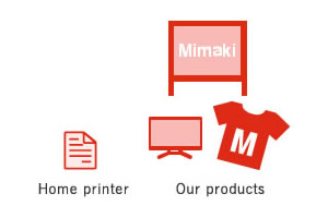 Home printer Our products
